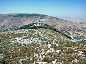 A Mountainside in Israel