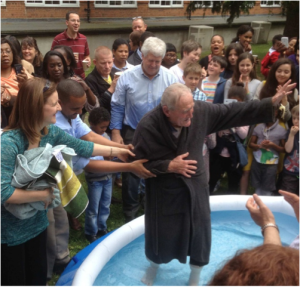 Alex Baptised