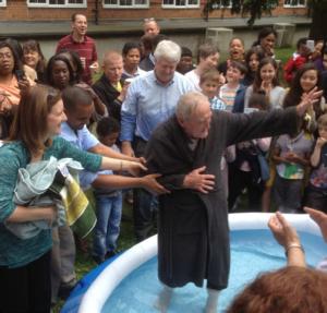 Alex Baptised