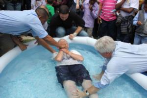 Alex Inglis Baptism